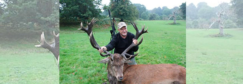 Teglskovens Hunting - jagtrejser til England - Kapitale Royale Kronhjorte